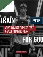 Acft 6-Week Training Plan