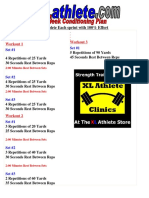 Drill Sheet Eight-Week Conditioning Plan 1514746407287