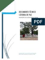 Documento Tecnico Estructura de Catedra Paz Aguachica Cesar 2711