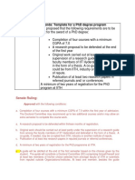 PHD Guidelines