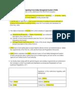 Fsms Declaration