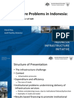 Infrastructure Problems in Indonesia