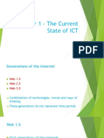 Chapter 1 – the Current State of ICT