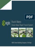 Kochi Metro IGBC Presentation.03.09.14 V