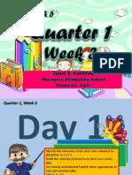 English Week 3 D1-5