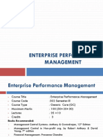 EPM-1.1 Performance Management