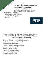 Prevenirea si combaterea coruptiei 2018 - postuniversitar.ppt