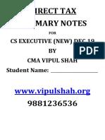 CS EXECUTIVE DIRECT TAX REVISION FOR DEC 19.pdf