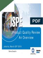 PQR Overview 2016