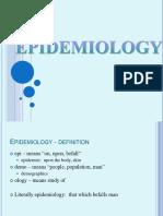Epidemiology Ppt New