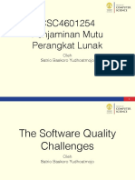 01 - The Software Quality Challenges