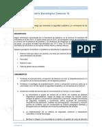 Matriz Estratégica - Comuna 16