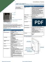 MET ECOM D.installationGuide