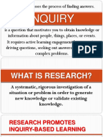 Lesson 2 INQUIRY and Research