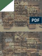 Cafe Designing Introduction