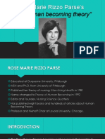 rose marie parse