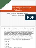 Lecture on Fundamental Analysis_Dr. Nivedita