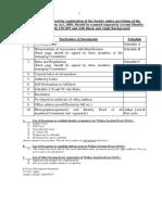 Societies Registration Checklist - English