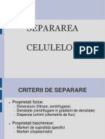 Separarea celulelor