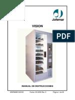 Jofemar Vision Mnp86m01esv005