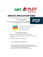 Service Application Form Color Coded 4-19