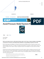 Avoid Pressure-Relief System Pitfalls _ AIChE