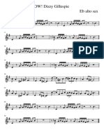 OW! Dizzy Gillespie  Eb