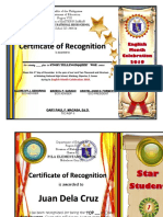 Award Certificates EDITABLE