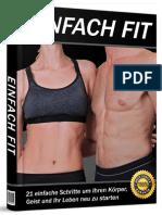 EINFACH FIT System Buch PDF