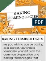 Baking Terminologies