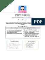Imran  CV