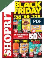 Shoprite Black Friday
