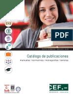 Catalogo Publicaciones Cef