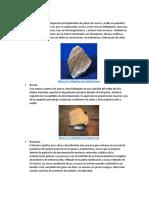 Rocas Sedimentareas