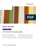RISI Paper Grades Overview