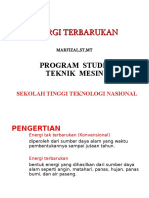 Energi Terbarukan Pertemuan 1