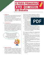 Características Del Debate Para Sexto Grado de Primaria