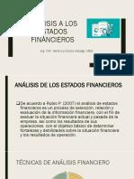 Analis de estado financieros