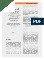 Artículo de Ecosistemas Canalendre