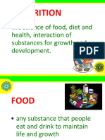 Basic Nutrition From NNC