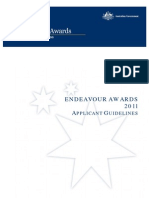 Endeavour Awards Australia
