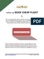 Cheapofareus-Tips to Book Cheap Flight
