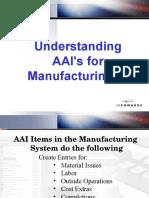 JDE manufacturing module training