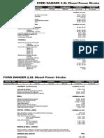 FORD RANGER 2,8L Diesel Power Stroke(1)
