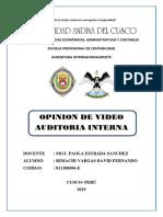 Rimachi Vargas David Fernando - Opinion de Video.docx