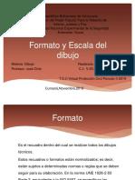 Formato y Escala Del Dibujo