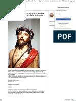 Los 33 Pasos de Jesc3bas Crucificado