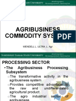 Agribusiness Commodity Systems