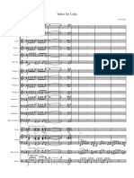 Sabor de Cuba - Score and Parts