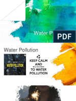 Causes Water Pollution